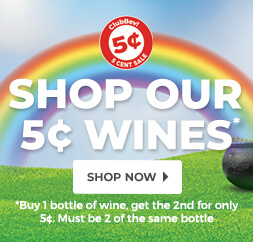 Shop Our 5¢ Wines*