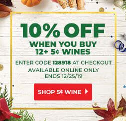 10% Off When You Buy 12+ 5c Wines