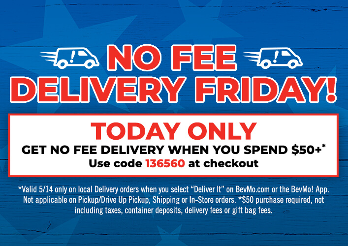 No Fee Delivery Friday, 5/14/21